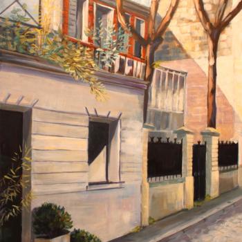 110 Fréon Christel - 80x60 - acrylique