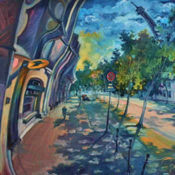 133 ZHARAYA_ Eugéniya_ huile _60x80