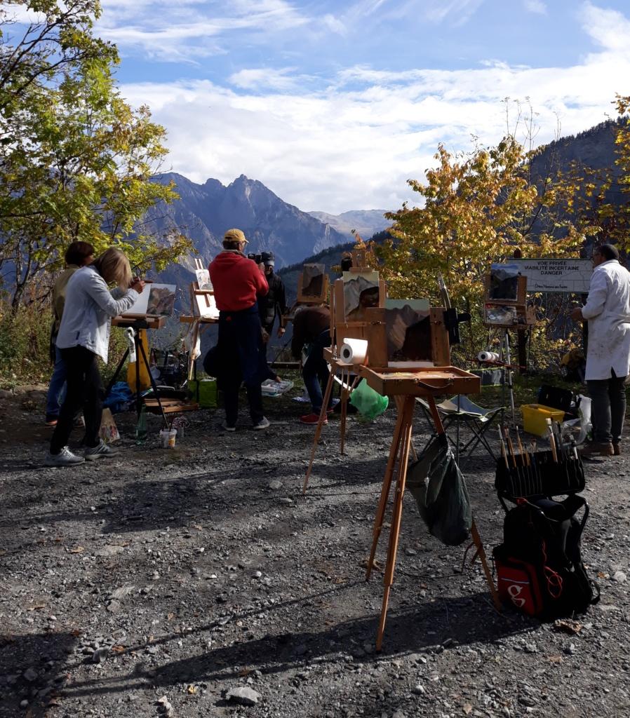 plein air en Savoie Art & Cimes Association